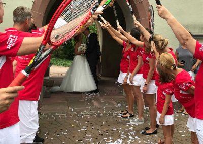 Hochzeit1 Tennis Kenzingen