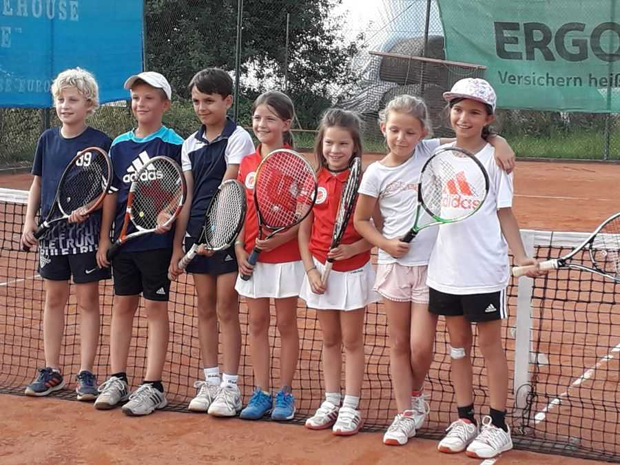 U10 wird Meister Tennis Kenzingen