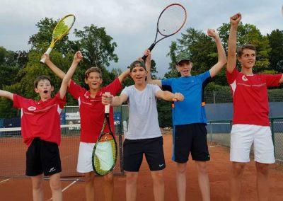 U14 wird Meister Tennis Kenzingen