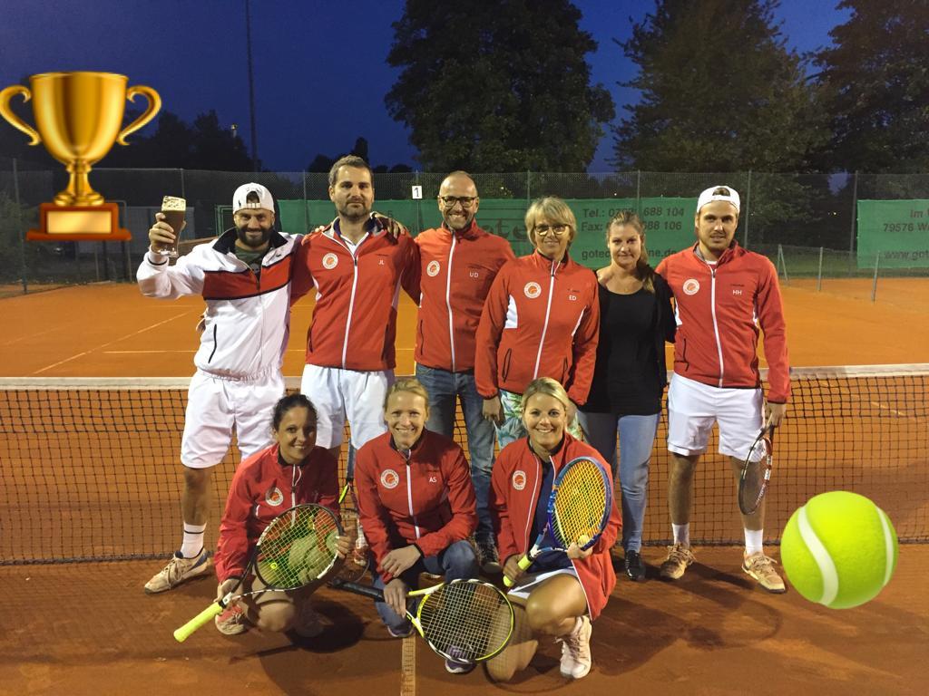 Kenzinger Tennismannschaften 4 Meisterschaften