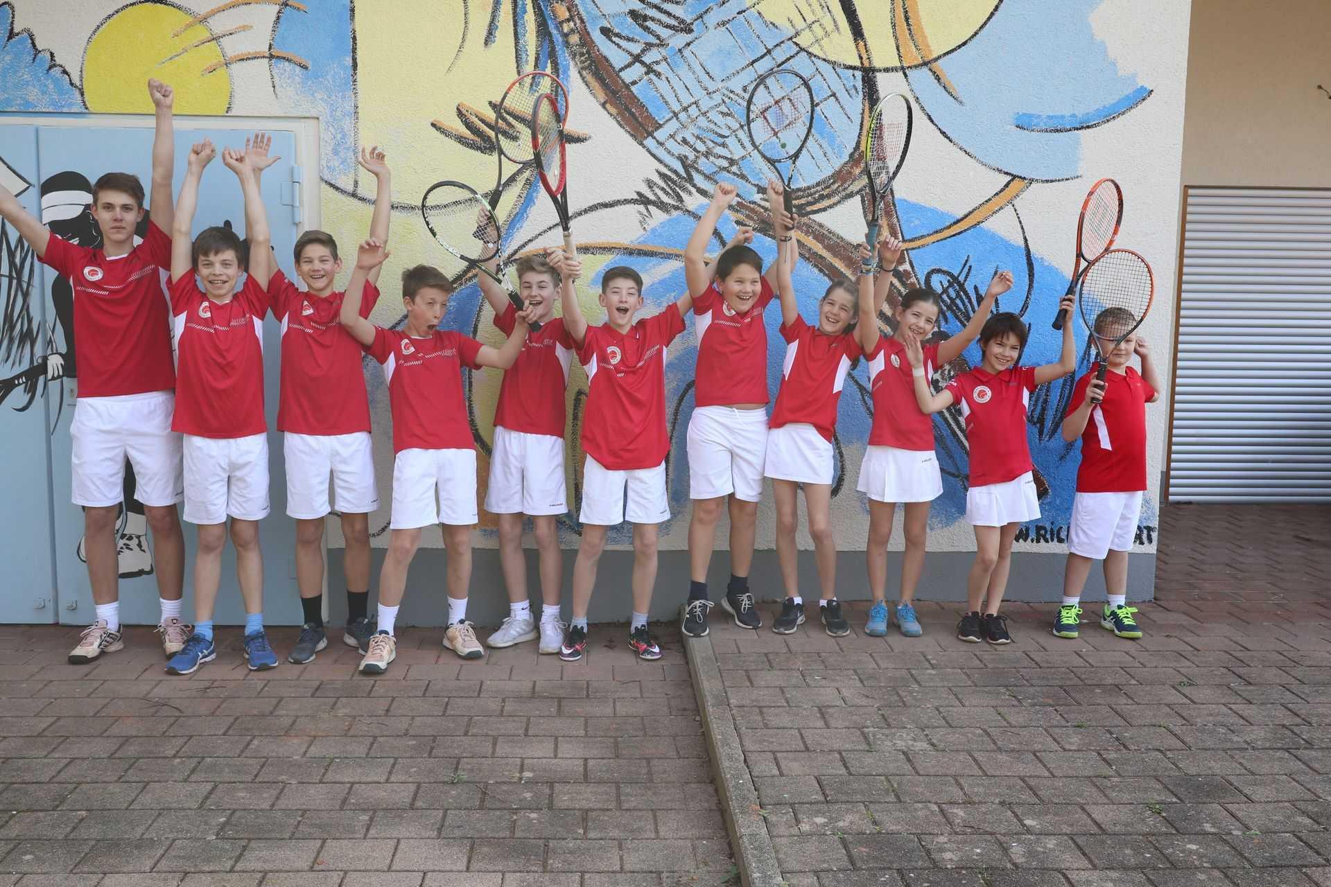 Tennisverein Kenzingen manschafte 17