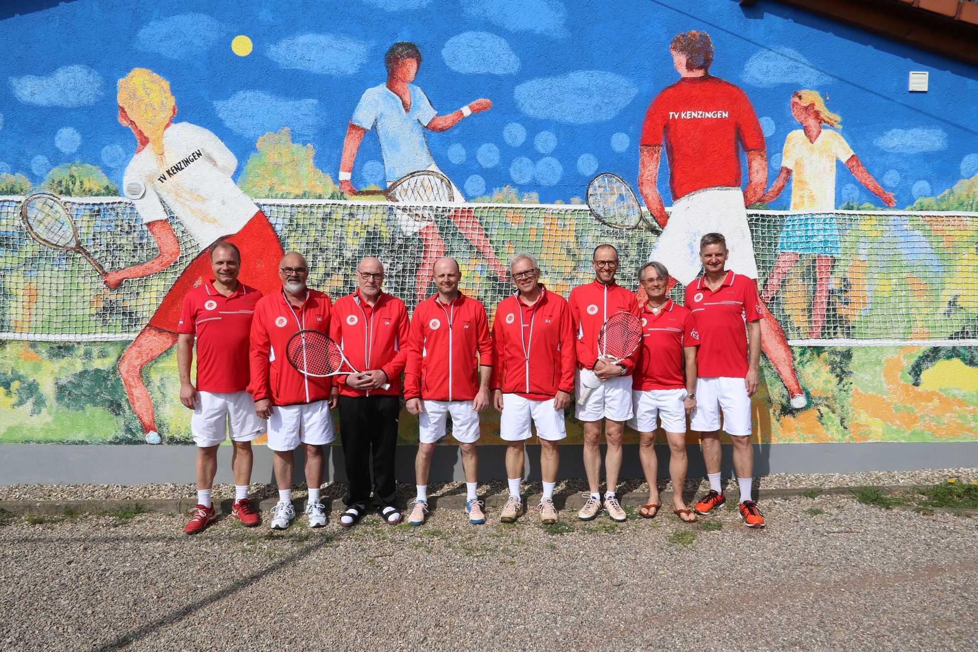 Tennisverein Kenzingen manschafte 18