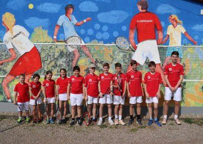 Tennisverein Kenzingen manschafte 20