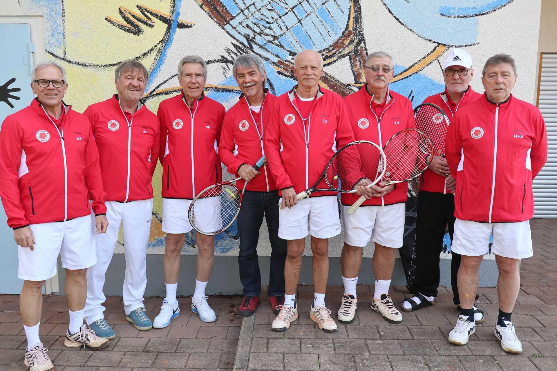 Tennisverein Kenzingen manschafte 21