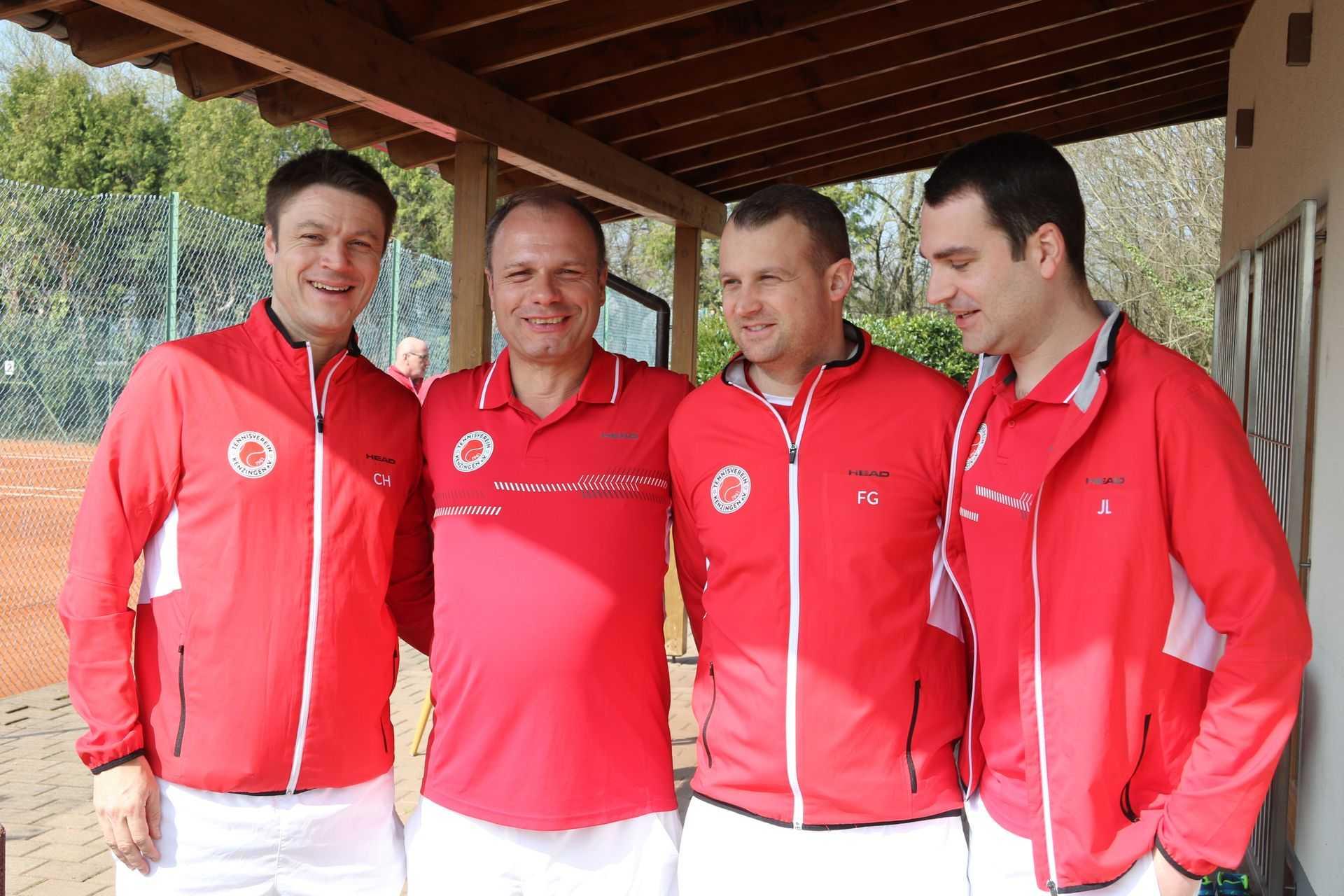 Tennisverein Kenzingen manschafte 35